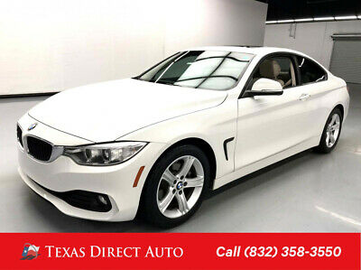2015 BMW 4-Series 428i Texas Direct Auto 2015 428i Used Turbo 2L I4 16V Manual RWD Coupe Premium