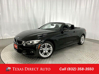2017 BMW 4-Series 430i xDrive Texas Direct Auto 2017 430i xDrive Used Turbo 2L I4 16V Automatic AWD