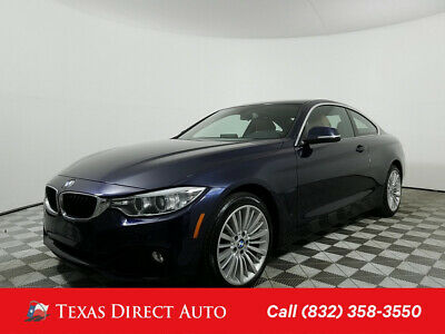 2016 BMW 4-Series 428i xDrive Texas Direct Auto 2016 428i xDrive Used Turbo 2L I4 16V Automatic AWD Coupe
