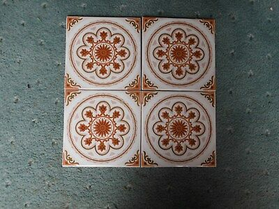 retro ceramic wall tiles late 1970's early 80's