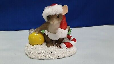 CHARMING TAILS BABY/'S FIRST CHRISTMAS 1994 ANNUAL ORN~ CUTE NEW 87184