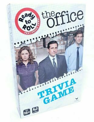 The Office Trivia Game Ready to Roll Fast Paced Game BOX TORN