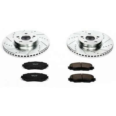 Powerstop K1279-Z23 Evolution Brake Kit For 87-93 Ford Mustang-Front