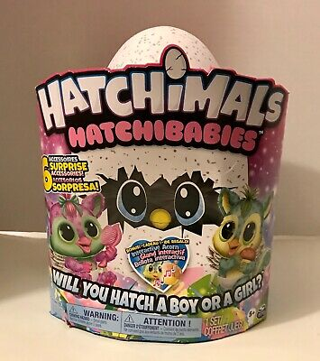 Hatchimals Hatchibabies Lg Interactive Ponette/Cheetree -Contains Boy Or Girl