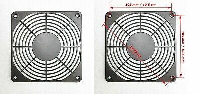1Pcs - 120mm / 12cm PLASTIC Fan Finger Guard Grill - 6 Rings