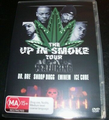 The Up In Smoke Tour (Australia Region 4) DVD  Eminem Snoop Dogg Dr Dre Ice Cube