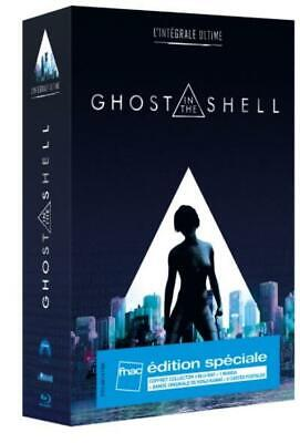 4 BLURAY + 1 MANGA GHOST IN THE SHELL Edition spéciale Fnac NEUF SOUS BLISTER