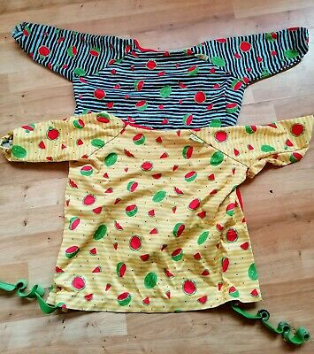 Two Bibado Cover All Weaning Bibs