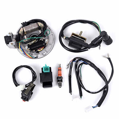 WIRE HARNESS WIRING Loom CDI Coil Magneto Spark Plug 50-125 ... on lifan honda wiring, lifan 110cc mini chopper wiring diagram, crf50 lifan 125 wiring, lifan 125 wiring lights, lifan engine wiring, lifan 200cc wiring-diagram, lifan wiring no battery, lifan 125 pit bike motor wiring, lifan 110 wiring diagram, lifan 250 wiring diagram,