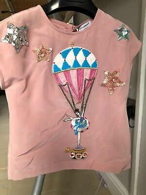 Baby 24 Months Dolce Gabbana Top Girls Pink Brand new with tags tiny defect