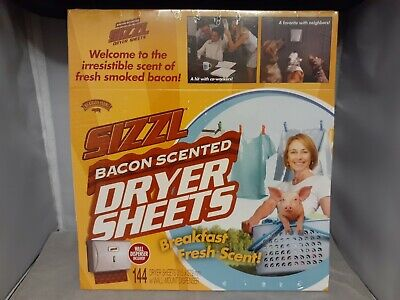 PRANK GIFT BOX Bacon Scented Dryer Sheets