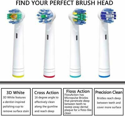 Electric Toothbrush Heads Compatible With Oral B Braun Toothbrush Heads dental