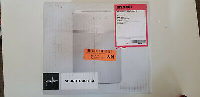 Details about  Bose SoundTouch 10 Wireless Music System - White OPEN BOX