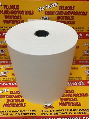 80mm - 80mm Thermal Paper Till Rolls  (120 Rolls)