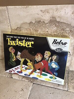 New Twister Classic (Retro) Board Game  (SEALED) Based On 1966 Edition
