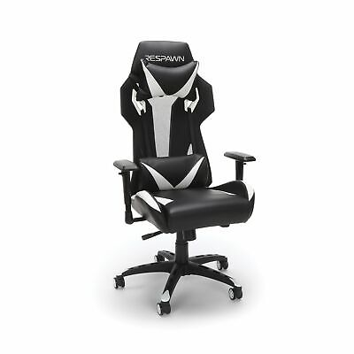 RESPAWN 205 Racing Style Gaming Chair in White RSP-205-WHT