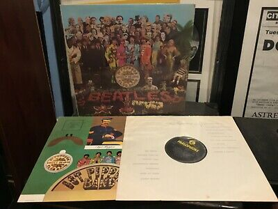 L@@K THE BEATLES Sgt Peppers Lonely Heart Club Band 1967 UK VINYL LP L@@K