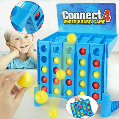 Connect 4 Shots Kids Childrens Games Family Funny Toy 3 4 5 6 7 8 9 Years Gifts