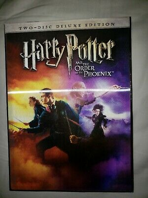 Harry Potter and the Order of the Phoenix (DVD, 2007, 2-Disc Set, Deluxe...