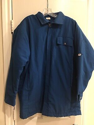 SAF-TECH Blue FR INDURA LINED INSULATED JACKET -xlarge 46-48