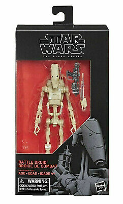 """Star Wars The Black Series Battle Droid 6"""" Action Figure NEW unopened sealed TPM"""