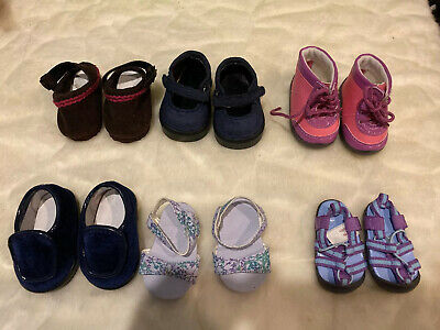 American Girl Doll Shoes Lot For 18 Inch Dolls 6 Pairs 5 Labeled AG