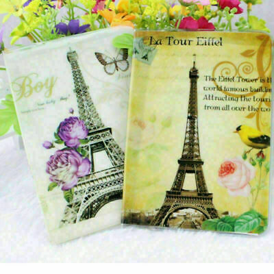 Tower  Pattern Passport Holder Cover Travel Wallet Card Case Organizer 2019 W7G4