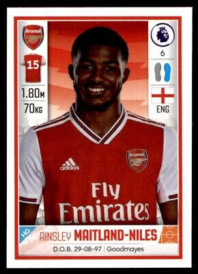 Panini Football 2020 - Ainsley Maitland-Niles (Arsenal) No. 66