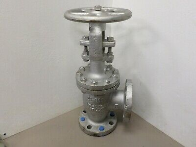 """Kerotest 2-1/2"""" - 300 Right Angle Valve Flanged"""