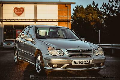 2002 Mercedes Benz C32 Amg 3.2 Auto C32 Amg Full Service History 12 Months Mot