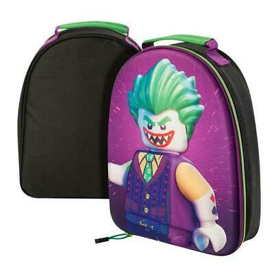 Lego Batman Movie 3D Joker licensed School Insulated Picnic Carry Lunch Box Bag