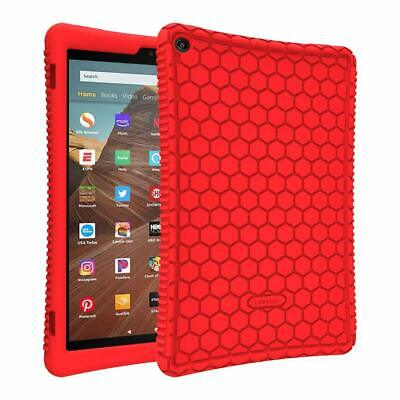 "For Amazon Fire HD 10 10.1"" 9th Generation 2019 Tablet Silicone Case Back Cover"