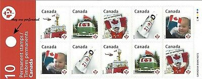 2012 Canadian Pride:Permanent stamps Booklet of 10 x P (BK474) SC# 2503a MNH