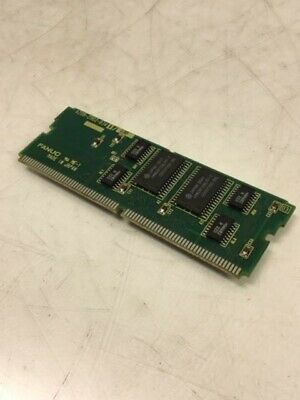 # A20B-2901-0765 // 02A Warranty Fanuc Dram Daughter Board Module Used