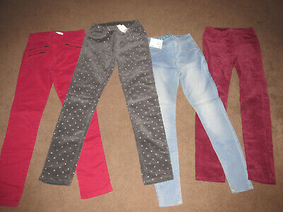 H&M Sparkly cords and Jeans George bundle, New! 9-10