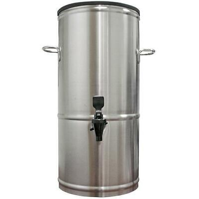 5 Gallon Iced Tea Beverage Dispenser Stainless Server Urn T5