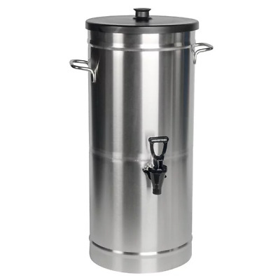 Bunn TDS-3.5 Dispenser w/Solid Lid 3.5 Gal. Cylinder Style Iced Tea & Coffee Dis