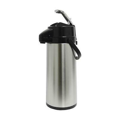 Commercial 1.9L 2.2L Glass Lined Stainless Airpot Coffee Server Dispenser