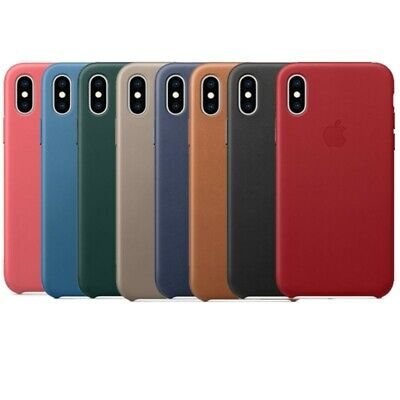 Luxury Genuine PU Leather Hard Back Case Cover For iPhone 11 Pro Max X XS Max XR