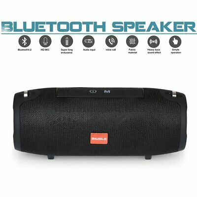 40W Tragbarer Wireless Bluetooth Lautsprecher Stereo Subwoofer SD Musicbox MP3