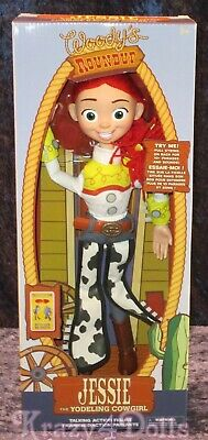 Disney Toy Story Interactive Talking Jessie Action Figure Doll NEW!