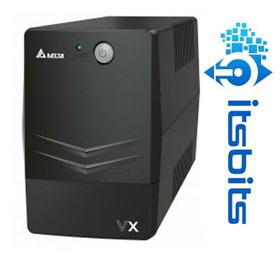 Delta Vx Ups 600Va 360W Line Interactive Agilon Family 2 Outlets  Usb Software