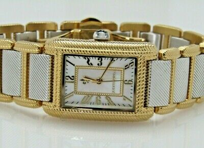 Judith Ripka Stainless Steel Lexington Watch Silver/Goldtone  Large