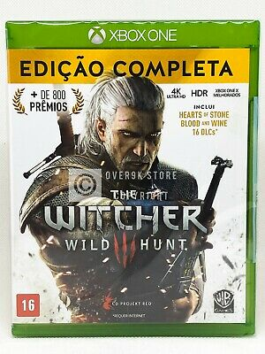 The Witcher III: Wild Hunt Complete Edition - Xbox One - New | Portuguese Cover