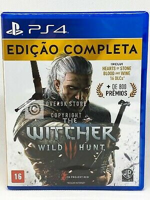The Witcher 3: Wild Hunt Complete Edition - PS4 - Brand New | Portuguese Cover