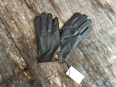 Dents James Bond Spectre Perforated Leather Driving Gloves