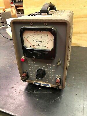 Hewlett-Packard Vacuum Tube Voltmeter Model 400D