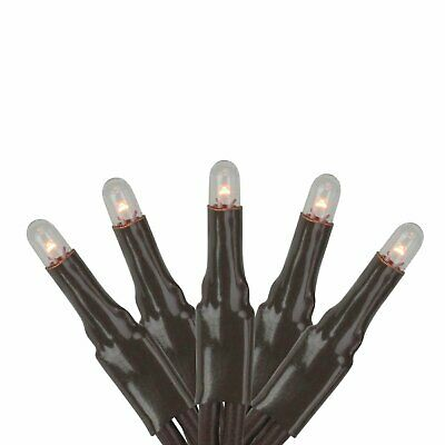 Darice Teeny Bulbs Multi Function 140 Light Set - Clear/Brown, Perfect for De...