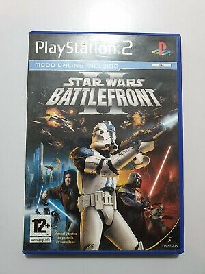 Star Wars BATTLEFRONT II PlayStation 2 (Ps2) Pal ESPAÑA COMPLETO
