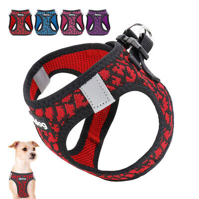 Small Dog Harness Vest Reflective Pet Cat Walking Jacket for Toy Poodle XXS XS S